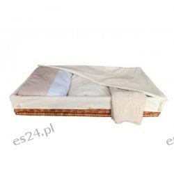 Wiklinowa szuflada pod łóżeczko