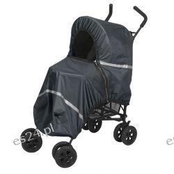 Pokrowiec Tulssa czarny na wózki spacerowe parasolki