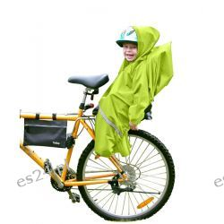 Pokrowiec Tullsa  na fotelik rowerowy seledyn