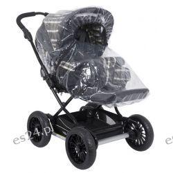 Pokrowiec Tulssa transparetny  na wózki spacerowe