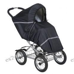Pokrowiec Tulssa czarny  na wózki spacerowe