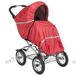 Pokrowiec Tulssa czerwony  na wózki spacerowe