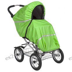 Pokrowiec Tulssa zielony  na wózki spacerowe
