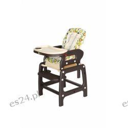 Krzesełko do karmienia Planet Brown