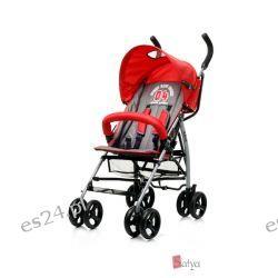 Wózek spacerowy Race firmy 4baby czerwony