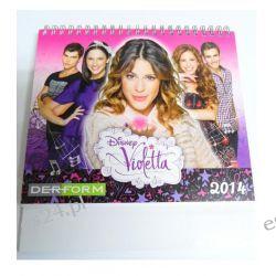 Violetta  kalendarz na 2014 rok + naklejki gratis