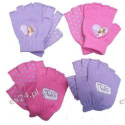 Rękawiczki  Violetta różowe