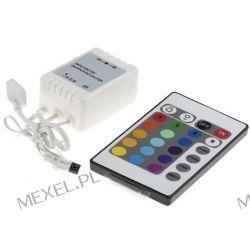 Sterownik RGB 72W 3x2A IR  Muzyka i Instrumenty