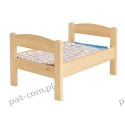 IKEA DUKTIG Łóżko dla lalki/zestaw pościeli, sosna