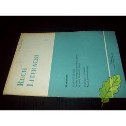 Ruch Literacki 1/1985