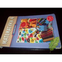 Matematyka 4 podręcznik - Dobrowolska
