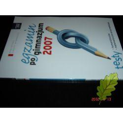 Egzamin po gimnazjum 2007 Testy Rawicz