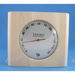 SAUNA Termometr SaunaSet /silver/