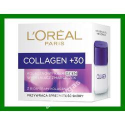 Loreal Collagen Krem na Dzien wypelniacz zmarszcze