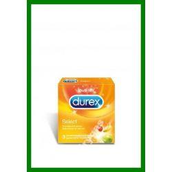 Durex Prezerwatywy Select 3 szt