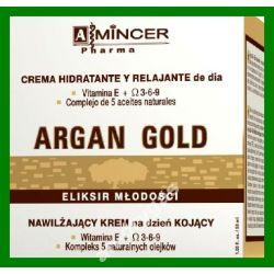 Mincer Pharma Argan Gold Krem na dzien nawilzajacy