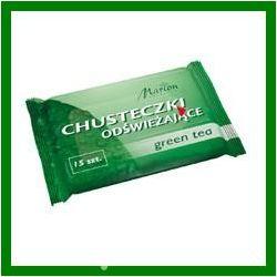 Marion Chusteczki odswiezajace Green Tea o zapachu