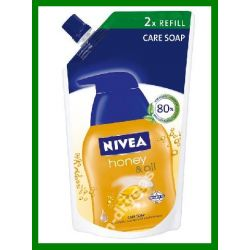 NIVEA MYDLO W plynie zapas Honey & Oil