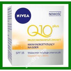 Nivea Visage Q10 Krem przeciwzmarszczkowy energety