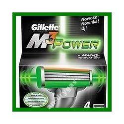 Gillette Wklady do golarek M3 Power 4 wklady do ma