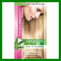 Marion Szampon koloryzujacy 4-8 myc nr 51 jasny pe