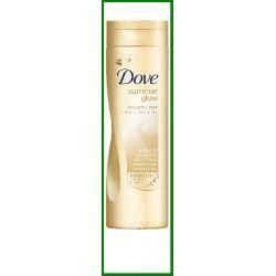 Dove Summer glow Soft shimmer Balsam delikatnie op