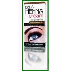 Delia Cosmetics Henna Henna do brwi i rzes w kremi