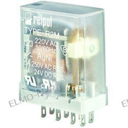 R2M 2P PRZEKAŹNIK ELEKTROMAGNETYCZNY 24V DC
