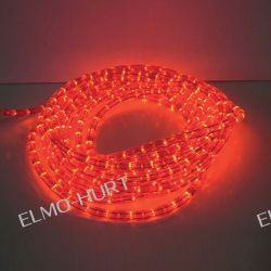 Wąż świetlny LED 2 Line Red