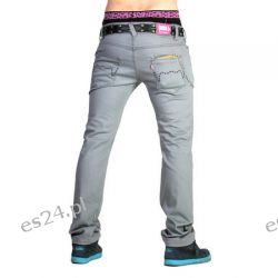 SPODNIE King Kong Bananas Jeans (grey)