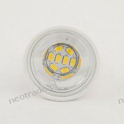Żarówka Ceramiczna LED E27 CER8D SMD 8x5630 5W 400lm Ściemniana Biała Ciepła