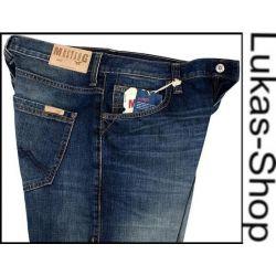 MUSTANG HUDSON spodnie jeans INDYGO (81) W30 L34