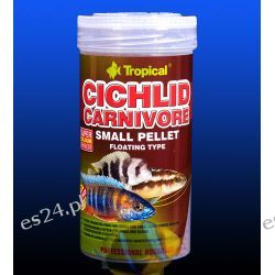 TROPICAL CICHLID CARNIVORE SMALL PELLET PUSZKA 250ml/90g