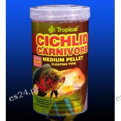 TROPICAL CICHLID CARNIVORE MEDIUM PELLET PUSZKA 1000ml/360g