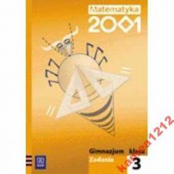MATEMATYKA 2001 KL 3 ZADANIA