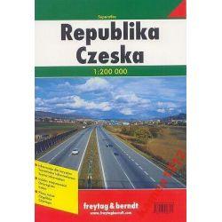 REPUBLIKA CZESKA SUPERATLAS SAMOCHODOWY