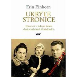 UKRYTE STRONICE EINHORN ERIN HOLOKAUST