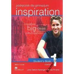 INSPIRATION 1 PODRĘ STUDENTS BOOK STARTER WYPRZEDA