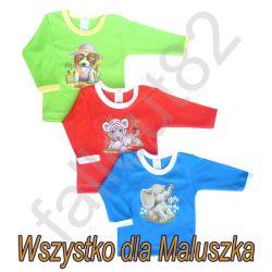 Bluzka bluzeczka sitodruk 68 aplikacje zwierzaki