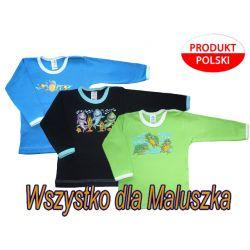 Bluzka bluzeczka sitodruk 104 zwierzaki