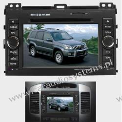 "DVM-3006 dla Toyota LC120 Prado 7"" , GPS, DVD, Bluetooth, I pod,"