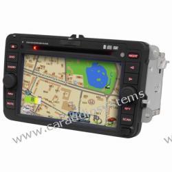 "DVM-1800 dla Passat B6, VW Jetta, VW golf, VW Touran, VW caddy, Skoda Roomster, Skoda Fabia 7"" , GPS, DVD, Bluetooth, I pod,"