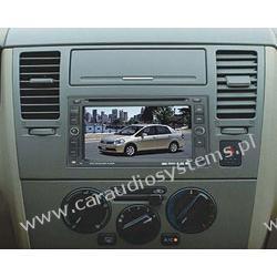 "DVM-1325 dla Nissan Qashqai, X-Trial, Tiida, Micra, Note 7"" , GPS, DVD, Bluetooth, I pod,"