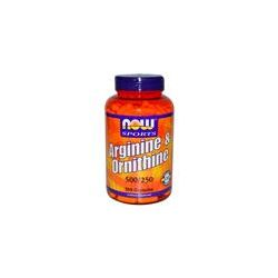 Now Foods, Arginine & Ornithine, 500/250, 250 Capsules