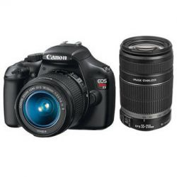 Canon EOS Rebel T3 DSLR Camera with 18-55mm and 55-250mm Lens Kit