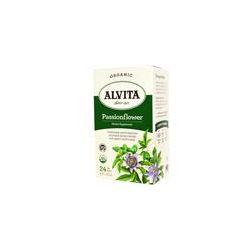 Alvita Teas, Organic Passionflower Tea, 24 Tea Bags, 1.13 oz (32 g)