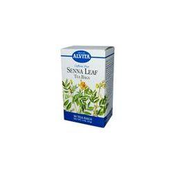 Alvita Teas, Senna Leaf, Caffeine Free, 30 Tea Bags, 2 oz (57 g)