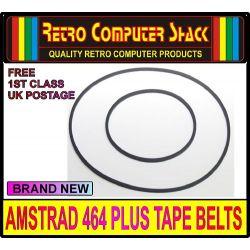 Amstrad 464 PLUS Tape Drive Belt Set (Brand New)