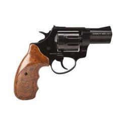 """Rewolwer alarmowy ZORAKI K-6L 2,5"""", kal. 6mm LONG, czarny, okładzina brązowa ABS"""