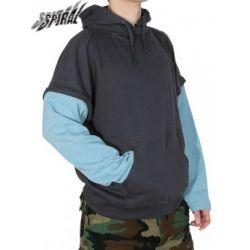 bluza kangurka (odpinane rękawy i kaptur) (PL-807) BBEZ-034